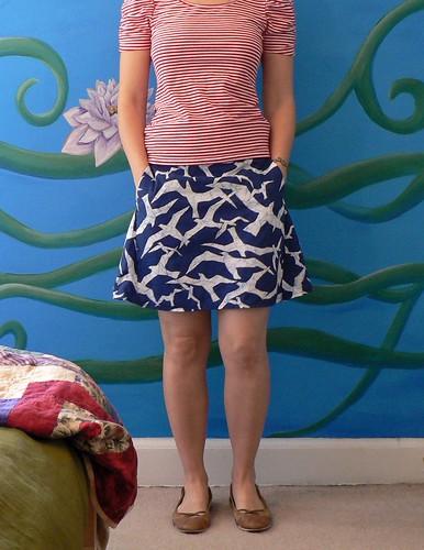 Bird Skirt 3