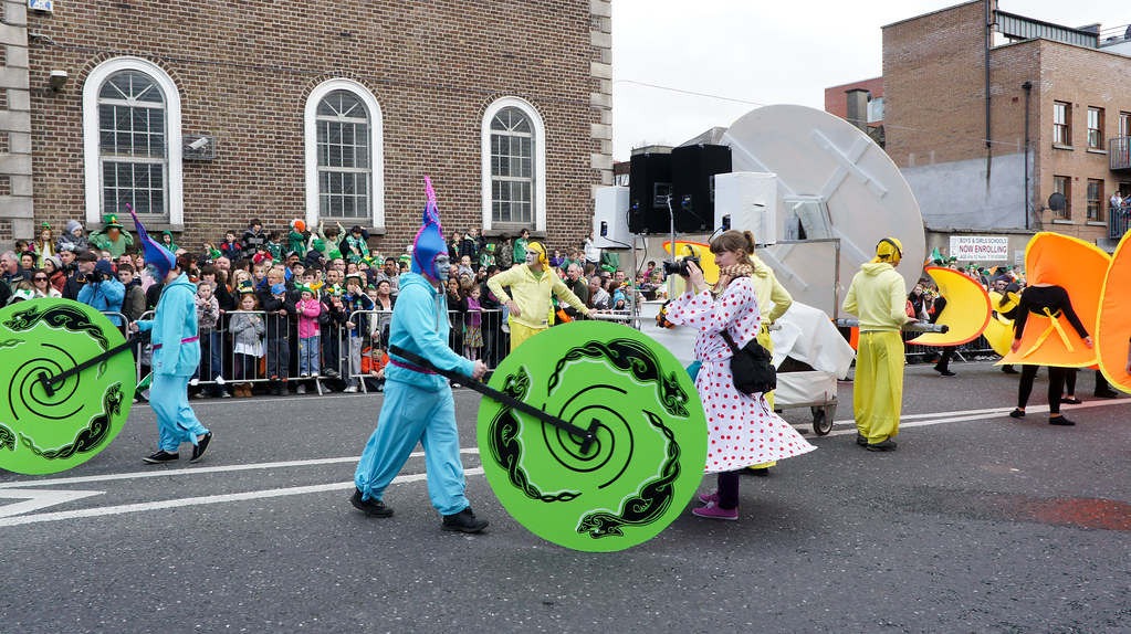 St. Patrick's Day Parade In Dublin - March 2011