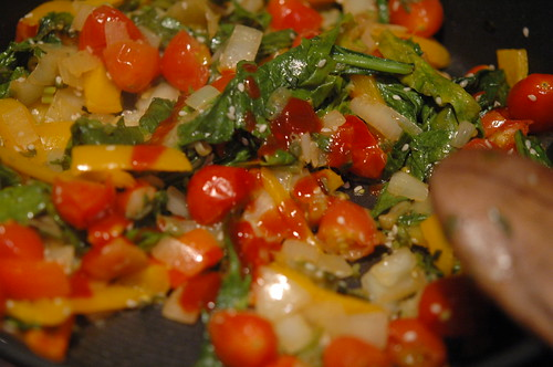 Sauteed Beet Green Mix