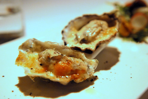 Spanish Manchego Gratinated Pacific Oysters