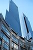Time Warner Center (IamRedBeard - 17 Million+ picture views. Thank you) Tags: nyc windows light ny newyork film 35mm buildings reflections skyscrapers stpatricksday kodakportra olympusom1n