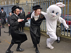 Purim in Stamford Hill