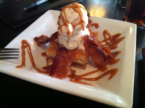 Bacon brownie from Local Gastropub, Memphis, Tenn.