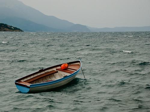 Boat, Lake Ohrid, Macedonia