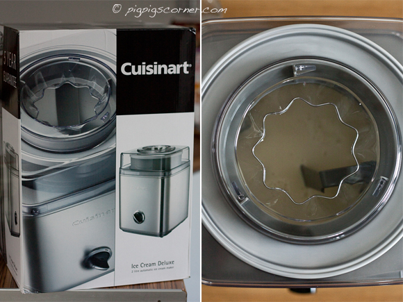 cuisinart ice-cream maker