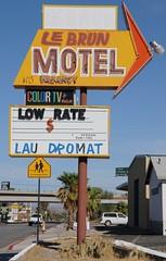ROUTE66_2245 - NEEDLES CA (Tsinoul) Tags: california road usa sign route66 nikon loop mother motel 66 historic hwy business route lebrun 40 needles alignment d300 rt66 motherroad us66 nikond300 nationaltrailshwy lebrunmotel