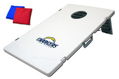 San Diego Chargers TailGate Toss 2.0 Plastic Cornhole Boards