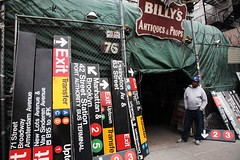 Billy's Antiques and Props (slowpoke_taiwan) Tags: nyc newyorkcity sign subway manhattan houston east antiques props nolita billys easthouston northoflittleitaly billysantiquesandprops