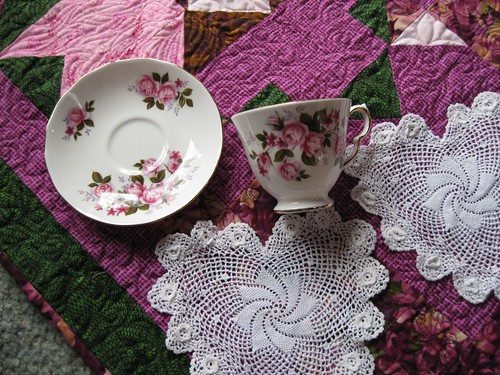 Teacup and Doilies