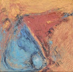 Finding Water in the Desert (colormuse) Tags: abstract water painting desert oil warmtones