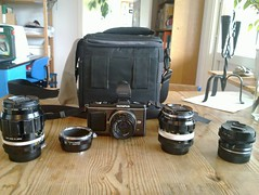 Four lenses and a camera