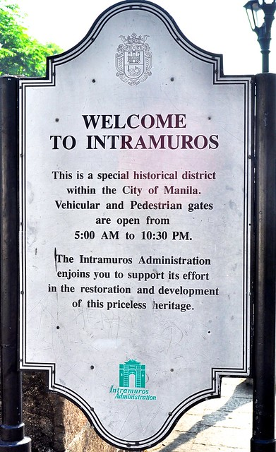 welcome to intramuros