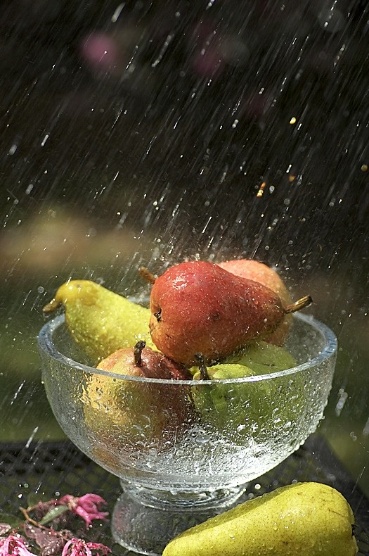 Pears under Water