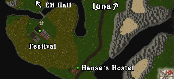 Ultima Online - Lake Superior Rares Festival 2011 - Map
