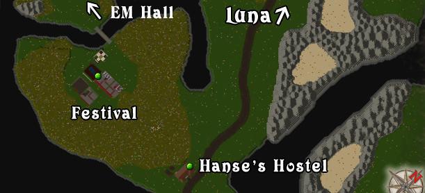 Ultima Online - Lake Superior Rares Festival 2011 - Map