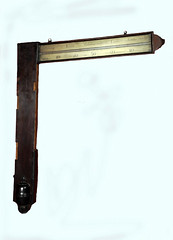A John Whitehurst Angle Barometer dated 1757 (Enlightenment!) Tags: