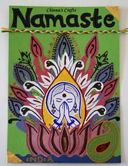 IC14- Postcard Swap- Namaste from India!