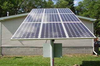 Niagara Falls, NY residential solar installation