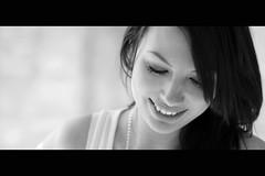 Quelques grammes de douceur dans un monde de brutes (Bruno French Riviera) Tags: portrait blackandwhite woman france girl beautiful mouth student pretty noiretblanc bouche belle jolie douceur etudiante femmefrancaise canonef50mmf12usml canoneos550d brunofrenchriviera