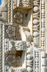 Carved Masonry (Patrick Costello) Tags: ruins roman tunisia tunis carthage antoninbaths