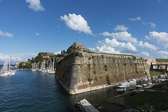 Corfu Fortress & boats (ORIONSM) Tags: corfu fortress boats water sailing greece ionian sony rx100