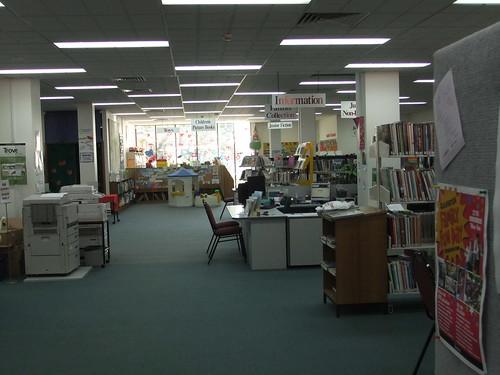 Queanbeyan Library interior