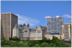 Fairmont Macdonald Hotel (Stella Blu) Tags: city stella summer canada skyline downtown cityscape edmonton blu canadian historic alberta oldnew gamewinner nikkor18200 thechallengefactory yourockwinner nikond5000 pregamewinner fairmontmcdonaldhotel beginswithlovore