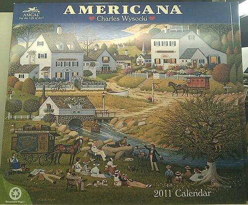 Americana - 2011 Calendar