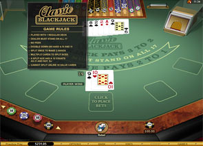 Classic Blackjack Gold Series Strategy