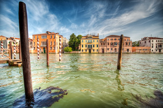 Turbulent Waters - (HDR Venice, Italy)