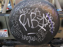 (Ice Cream Van) Tags: venice graffiti mecca 2010 ynot argue irock rbi rbsc idealr
