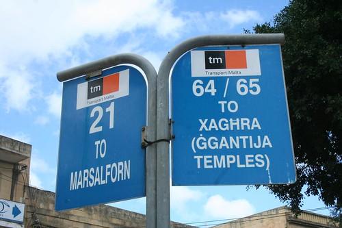Travel by Bus Around Malta