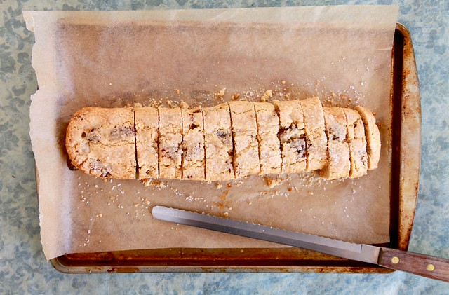 Peanut Butter Pecan Biscotti | Joy the Baker