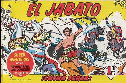 017-El Jabato nº 4-edicion 1958-portada