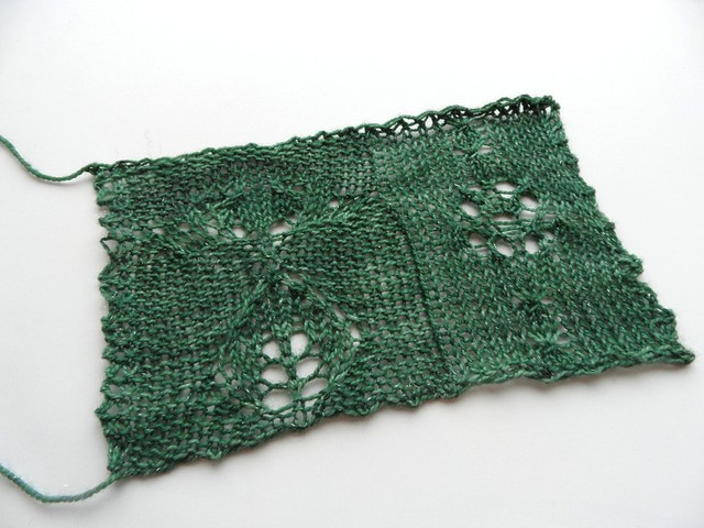 Blooming Mystery KAL swatch-2