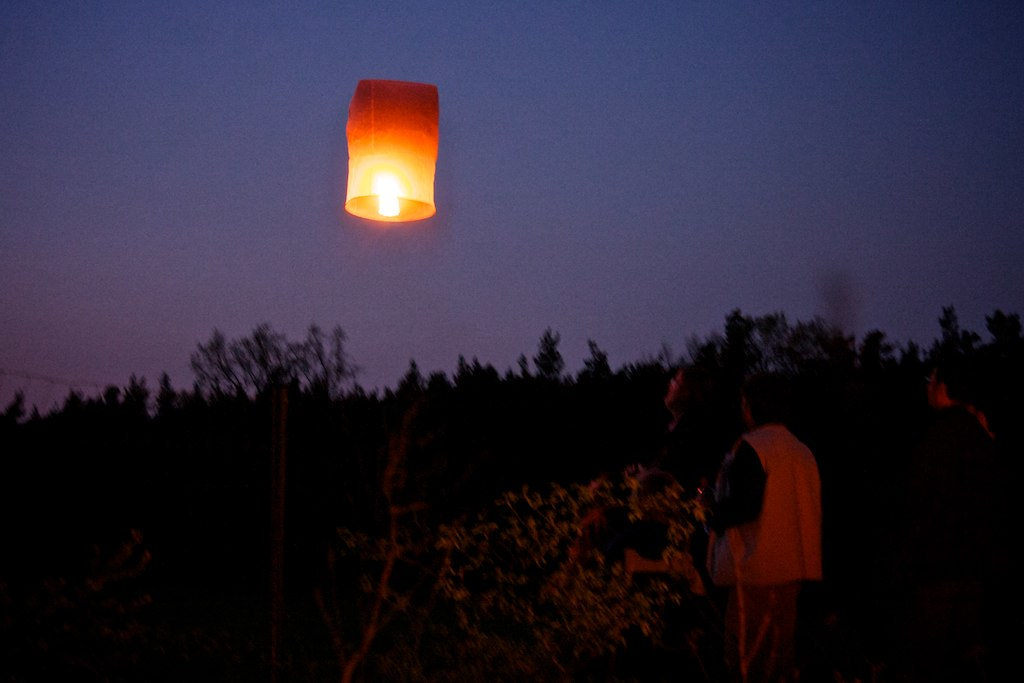 Feuerballon; copyright 2011: Georg Berg