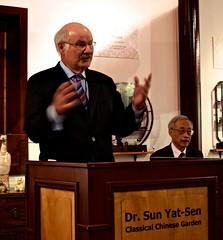 Mike Harcourt @ Dr. Sun Yat-Sen Chinese Garden
