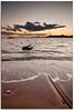 Calabardina II (Antonio Carrillo (Ancalop)) Tags: sunset sky españa sun sol beach water canon atardecer boat mar spain agua rocks europa europe long exposure barca playa tokina murcia filter 1224mm rocas aguilas filtro cokin 50d calabardina nd8 gnd8 eaearth ancalop
