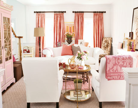 pale pink den country living