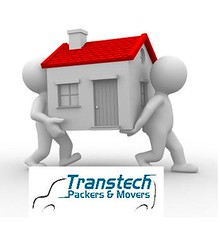 relocate home (TRANSTECH PACKERS AND MOVERS DELHI 9810174267 / 99) Tags: door roof red chimney people noida white house abstract building home real grey back 3d humorous estate carriage floor move packers problem human remove and push difficult heavy success solution relocate movers transtech 9810174267 9910174267