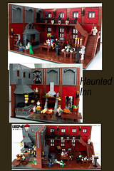 Haunted Inn (Kris_Kelvin) Tags: castle inn lego medieval haunted
