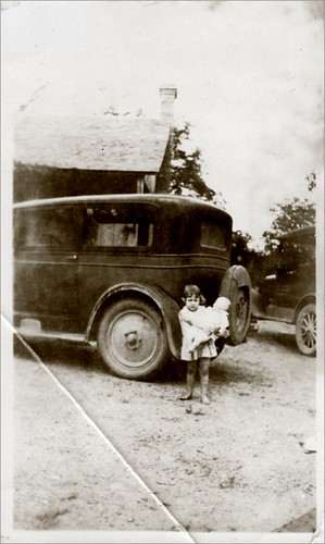 Vernacular Child With Car