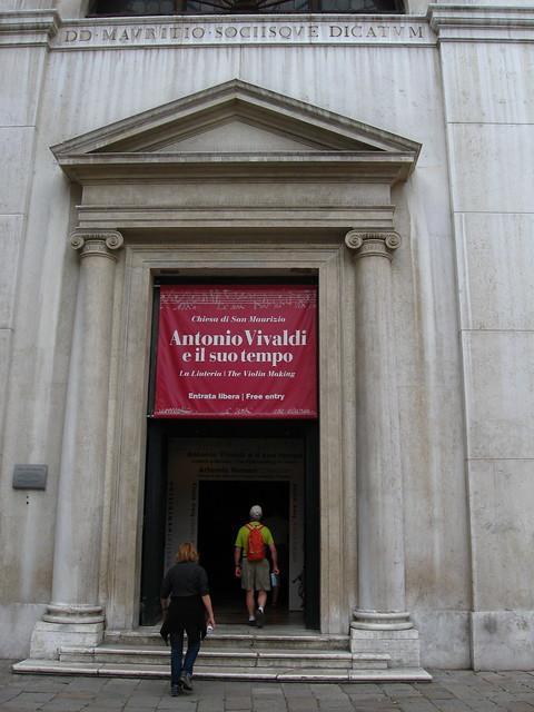 ヴェネツィアのコンサートホールのフリー写真素材