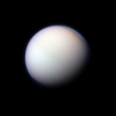 Titan RGB 2-4-11 (Lights In The Dark) Tags: moon science nasa astronomy titan cassini