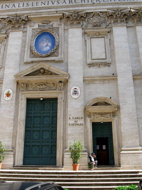 サン・カルロ・アイ・カティナーリ教会のフリー写真素材