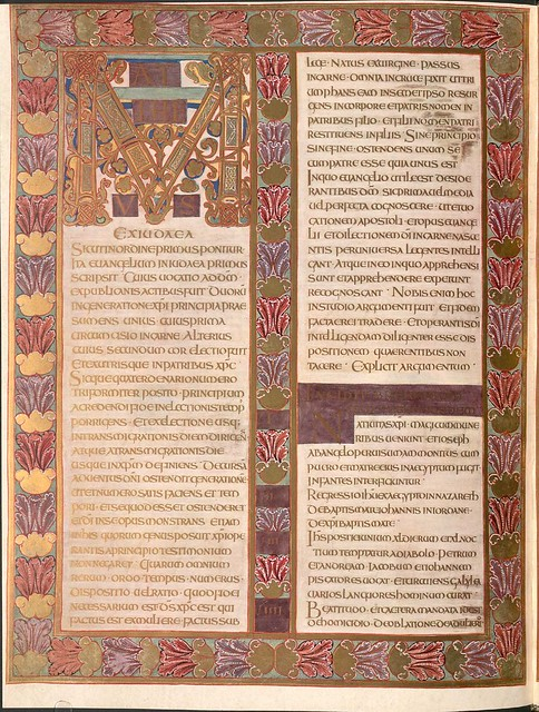 Evangeliar (Codex Aureus) - BSB Clm 14000 j
