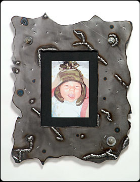 Bio-Hazard Custom Metal Picture Frame