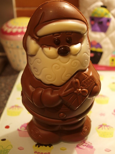 Thorntons Chocolate Santa
