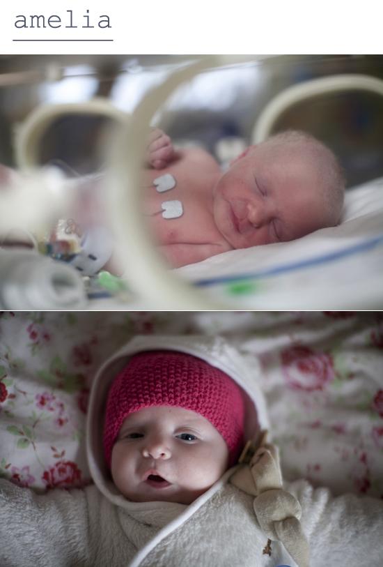 amelia, then & now