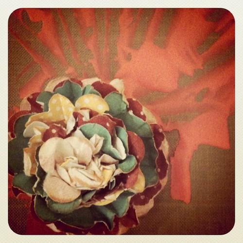 Hand-made flower